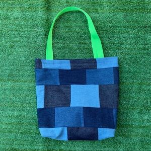 Patchwork One of a Kind Handmade Tote Bag